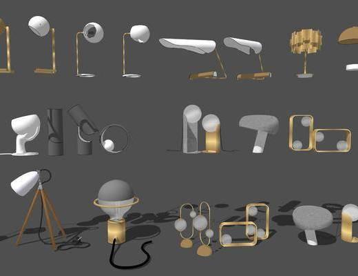 装饰灯具, 台灯, 灯具, 灯饰