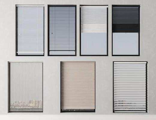 現代, 百葉窗, 組合