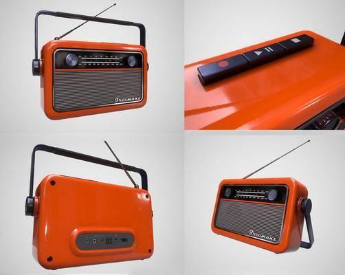 复古收音机, 耳机音响, 现代