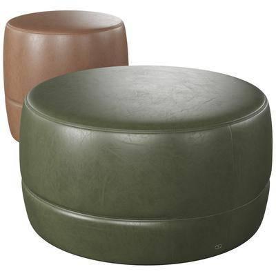 现代, 沙发凳, 单体