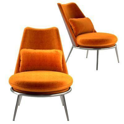 现代休闲椅, 单椅