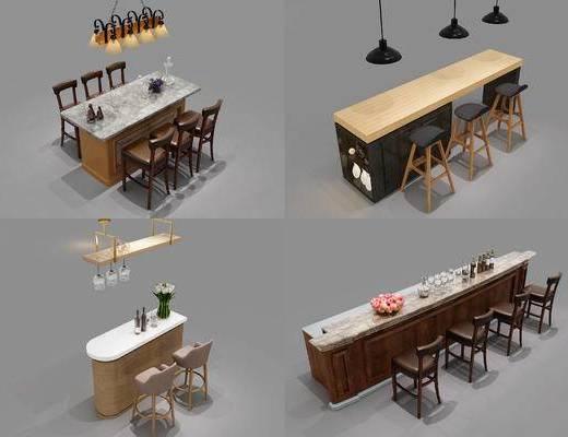 吧台, 现代吧台, 简欧吧台