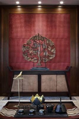 中式端景柜, 端景台, 端景柜, 边柜, 玄关柜, 陈设品