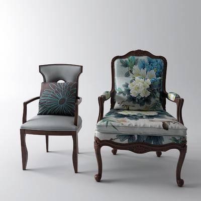 扶手椅, 单椅, 休闲椅