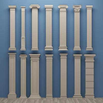 欧式罗马柱, 石膏柱子, 构件