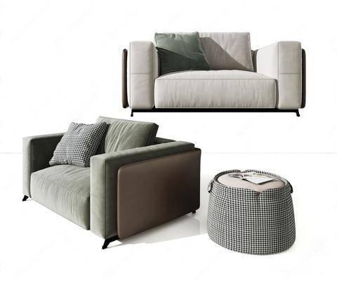 现代, 轻奢, 沙发
