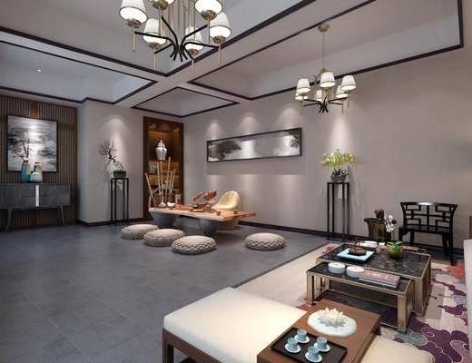 新中式茶室, 茶室, 中式茶室