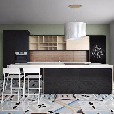 厨房橱柜, 现代
