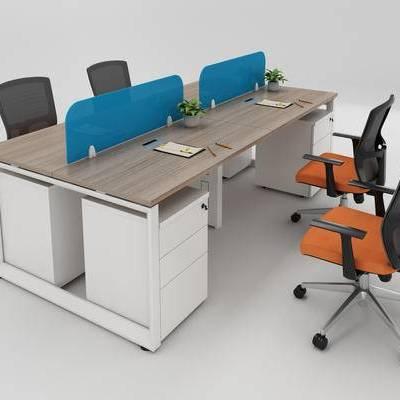 办公桌, 办公椅, 椅子, 桌子, 办公桌椅, 办公
