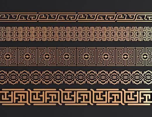 金属花格, 镂花, 新中式, 双十一