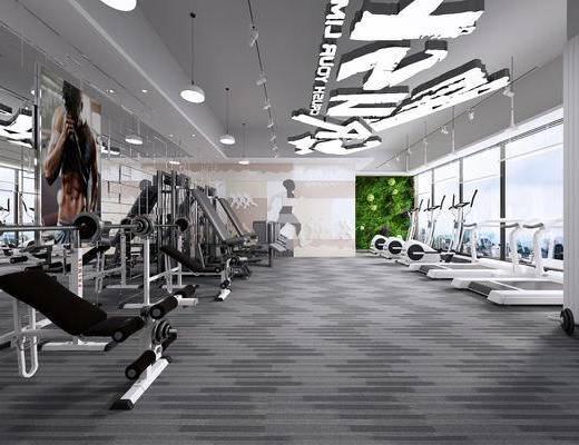 健身房, 健身會所, 健身室, 健身器材, 現代