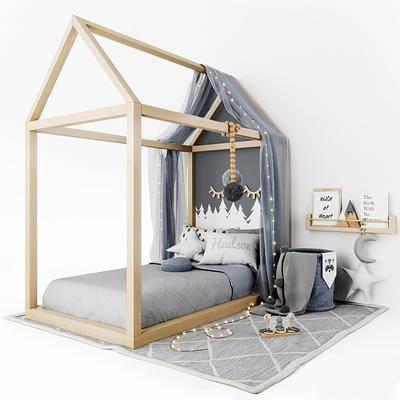 現代, 兒童床, 組合