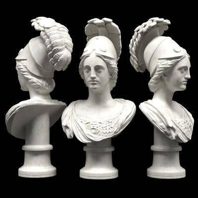 雕塑雕刻, 石膏任务, 雕塑摆件, 现代