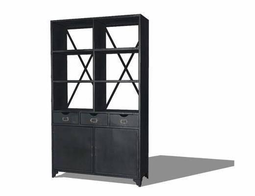 柜架组合, 置物柜, 边柜