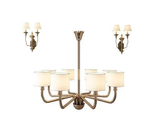 吊灯, 壁灯, 金属吊灯, 金属壁灯