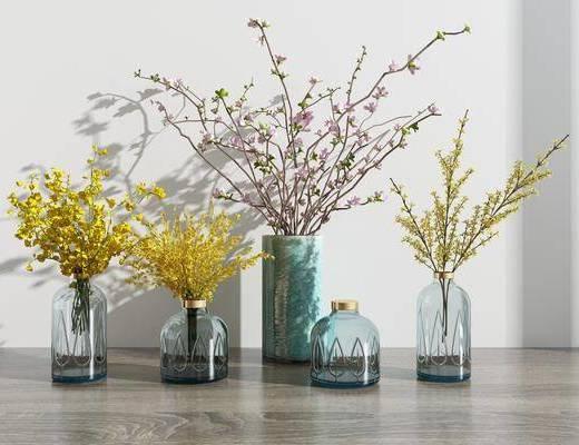 花瓶花卉, 现代花瓶花卉组合
