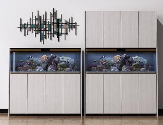 现代鱼缸, 现代鞋柜
