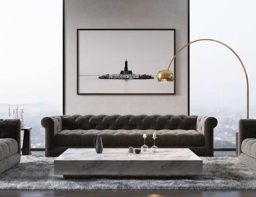 現代沙發, 沙發組合, 沙發茶幾組合