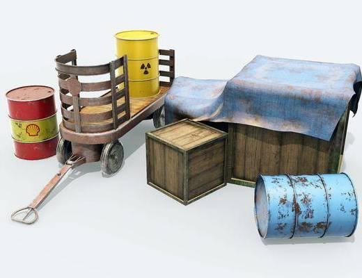 道具组, 工业风