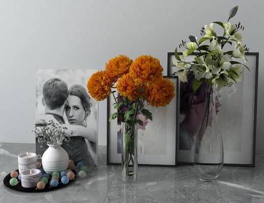 现代饰品摆件, 花瓶
