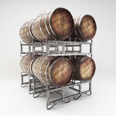 酒桶, 酒窖