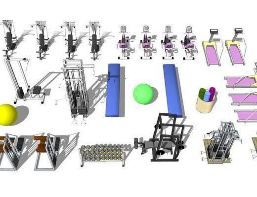 体育器械, 器材组合