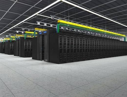 模塊機柜, 數據機房, 現代