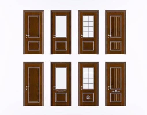 平开门, 门组合, 简欧
