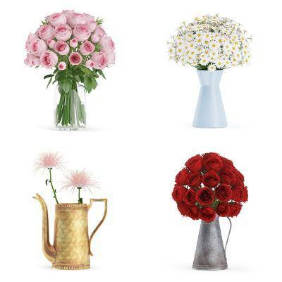 植物, 花瓶, 花卉, 盆栽, 现代