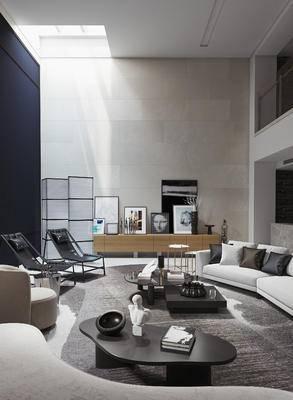 洽谈, 会客, 休闲, 沙发组合, 沙发茶几组合, 电视柜