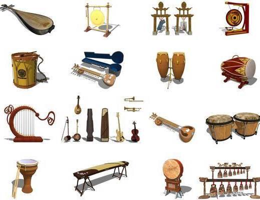 乐器, 画具