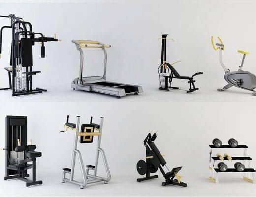 运动器材, 跑步机, 动感单车, 体育用品, 健身器械