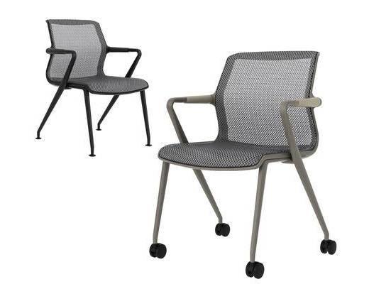 现代办公椅, 扶手椅