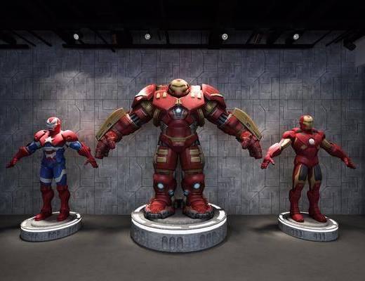 钢铁侠, 漫威英雄, 马克战衣, 现代
