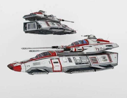 玩具, 坦克, 3d模型, 单体