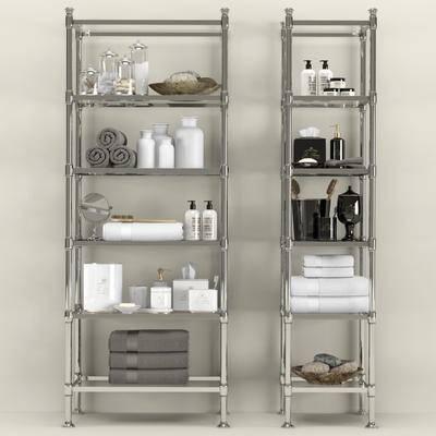 现代, 不锈钢, 柜架, 毛巾架, 卫浴柜, 陈设品, 日用品
