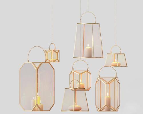 吊燈組合, 落地燈, 現代