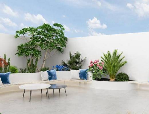 新中式, 庭院, 家�b