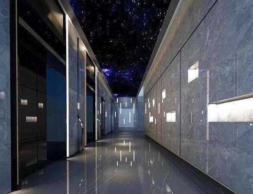 现代电梯, 电梯