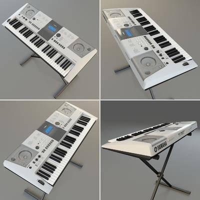 现代, 电器, 娱乐电器, 电子琴, 音乐