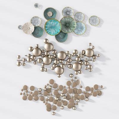 金属挂件, 金属墙饰, 现代