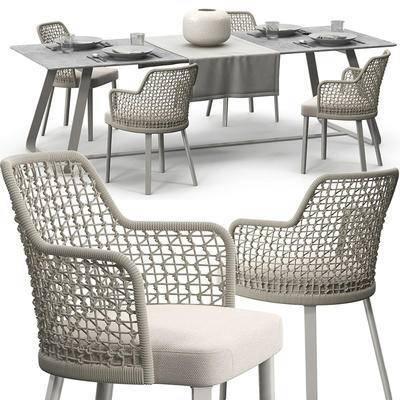 藤椅, 桌椅组合, 单椅, 休闲椅