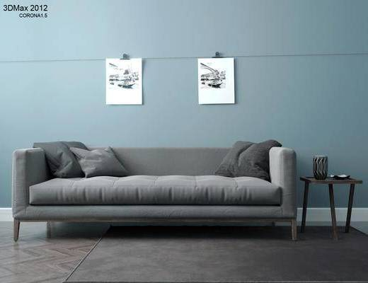 沙发, CR, 北欧, 现代