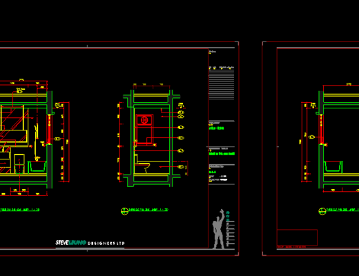 施工图, CAD, 立面, 平面, 家装