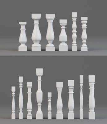 柱子, 现代