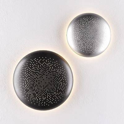 现代, 金属, 壁灯