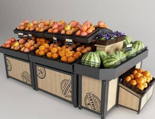 水果架, 货架