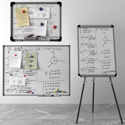 写字板, 白板