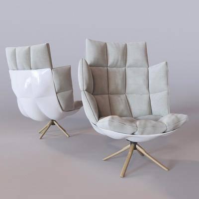 现代休闲椅, 单椅, 休闲椅, 现代
