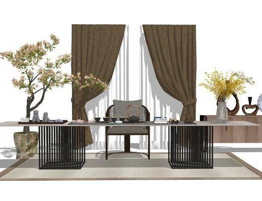 茶几, 桌椅组合, 茶具组合